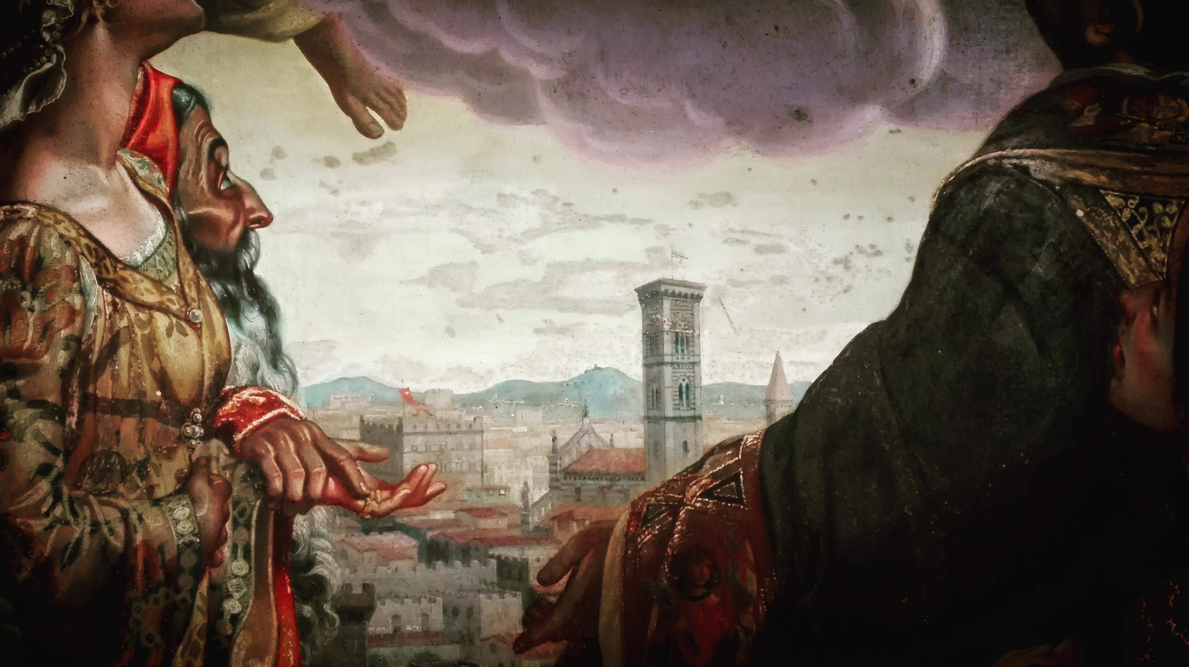 """Particolare """"Gloria di San Giuseppe"""""""